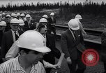 Image of power plant Labrador Canada, 1967, second 27 stock footage video 65675041330