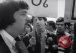Image of Hippies at a demonstration London England United Kingdom, 1967, second 11 stock footage video 65675041331