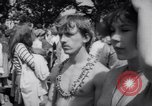 Image of Hippies at a demonstration London England United Kingdom, 1967, second 21 stock footage video 65675041331