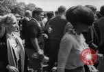 Image of Hippies at a demonstration London England United Kingdom, 1967, second 25 stock footage video 65675041331