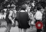 Image of Hippies at a demonstration London England United Kingdom, 1967, second 29 stock footage video 65675041331