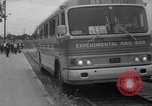 Image of rail bus New York United States USA, 1967, second 8 stock footage video 65675041334