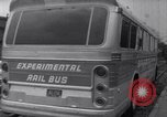Image of rail bus New York United States USA, 1967, second 20 stock footage video 65675041334