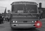 Image of rail bus New York United States USA, 1967, second 43 stock footage video 65675041334