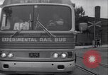 Image of rail bus New York United States USA, 1967, second 44 stock footage video 65675041334