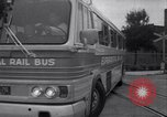 Image of rail bus New York United States USA, 1967, second 45 stock footage video 65675041334