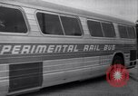 Image of rail bus New York United States USA, 1967, second 48 stock footage video 65675041334