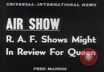 Image of Queen Elizabeth reviews RAF United Kingdom, 1953, second 12 stock footage video 65675041353