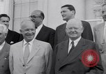 Image of President Eisenhower Washington DC USA, 1953, second 16 stock footage video 65675041355