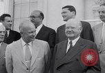 Image of President Eisenhower Washington DC USA, 1953, second 17 stock footage video 65675041355