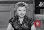 Image of Barbara Stanwyck United States USA, 1953, second 54 stock footage video 65675041361