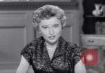 Image of Barbara Stanwyck United States USA, 1953, second 60 stock footage video 65675041361