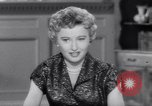 Image of Barbara Stanwyck United States USA, 1953, second 61 stock footage video 65675041361
