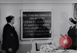 Image of Queen Elizabeth London England United Kingdom, 1955, second 34 stock footage video 65675041366