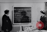 Image of Queen Elizabeth London England United Kingdom, 1955, second 35 stock footage video 65675041366