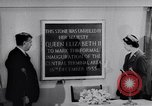 Image of Queen Elizabeth London England United Kingdom, 1955, second 36 stock footage video 65675041366