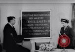 Image of Queen Elizabeth London England United Kingdom, 1955, second 37 stock footage video 65675041366
