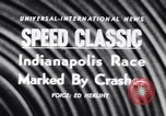 Image of racing event Indianapolis Indiana USA, 1956, second 3 stock footage video 65675041376
