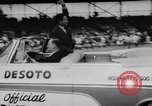 Image of racing event Indianapolis Indiana USA, 1956, second 12 stock footage video 65675041376