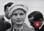 Image of Grace Kelly New York City USA, 1956, second 29 stock footage video 65675041379