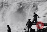 Image of Celilo Falls Oregon United States USA, 1956, second 13 stock footage video 65675041382