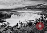 Image of Celilo Falls Oregon United States USA, 1956, second 35 stock footage video 65675041382