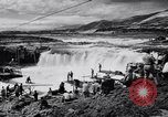 Image of Celilo Falls Oregon United States USA, 1956, second 36 stock footage video 65675041382