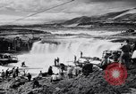 Image of Celilo Falls Oregon United States USA, 1956, second 37 stock footage video 65675041382
