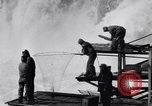 Image of Celilo Falls Oregon United States USA, 1956, second 57 stock footage video 65675041382