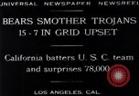 Image of football match Los Angeles California USA, 1929, second 5 stock footage video 65675041392