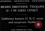 Image of football match Los Angeles California USA, 1929, second 12 stock footage video 65675041392