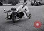 Image of unique motorcycle France, 1930, second 6 stock footage video 65675041393