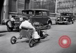 Image of unique motorcycle France, 1930, second 11 stock footage video 65675041393