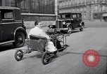 Image of unique motorcycle France, 1930, second 13 stock footage video 65675041393