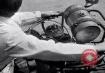 Image of unique motorcycle France, 1930, second 22 stock footage video 65675041393