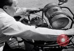 Image of unique motorcycle France, 1930, second 23 stock footage video 65675041393
