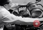 Image of unique motorcycle France, 1930, second 24 stock footage video 65675041393