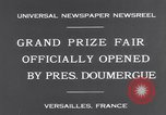 Image of President Doumergue Versailles France, 1931, second 7 stock footage video 65675041401