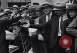 Image of unemployed veteran soldiers Detroit Michigan USA, 1933, second 22 stock footage video 65675041405
