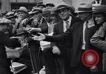 Image of unemployed veteran soldiers Detroit Michigan USA, 1933, second 23 stock footage video 65675041405
