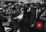 Image of unemployed veteran soldiers Detroit Michigan USA, 1933, second 25 stock footage video 65675041405