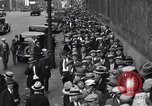 Image of unemployed veteran soldiers Detroit Michigan USA, 1933, second 40 stock footage video 65675041405