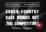 Image of Cross country race Paris France, 1937, second 2 stock footage video 65675041416