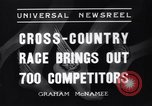 Image of Cross country race Paris France, 1937, second 8 stock footage video 65675041416