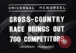 Image of Cross country race Paris France, 1937, second 9 stock footage video 65675041416