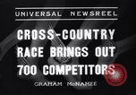 Image of Cross country race Paris France, 1937, second 11 stock footage video 65675041416