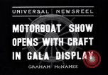 Image of Motor Boat Show New York City USA, 1937, second 4 stock footage video 65675041418