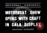 Image of Motor Boat Show New York City USA, 1937, second 5 stock footage video 65675041418