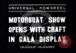 Image of Motor Boat Show New York City USA, 1937, second 8 stock footage video 65675041418