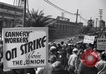 Image of Cannery workers Stockton California USA, 1937, second 6 stock footage video 65675041426